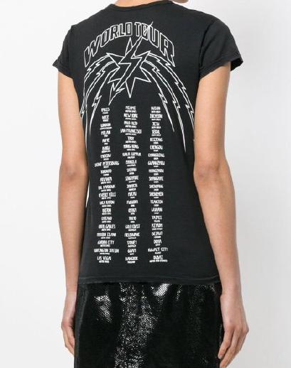 紀梵希城市名T恤