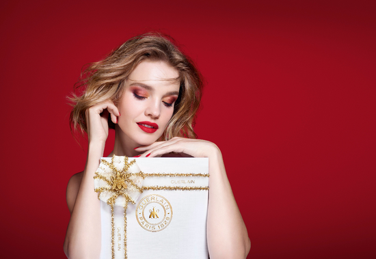 法国娇兰2020圣诞彩妆系列 圣诞礼绽