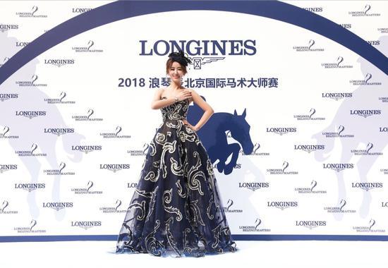 2018浪琴表北京国际马术大师赛盛装上演