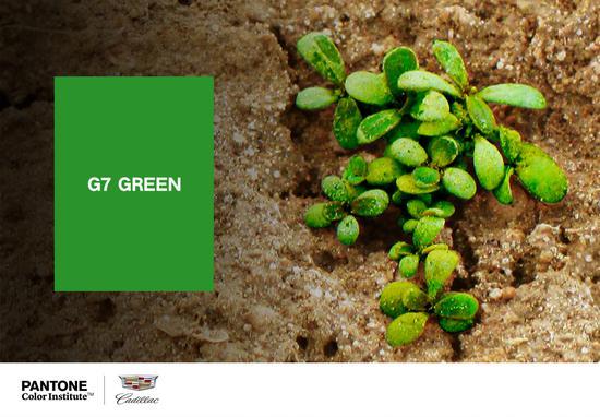 """上汽通用汽车凯迪拉克品牌联合彩通色彩研究所 (Pantone Color InstituteTM)发布""""G7 绿""""专属色"""