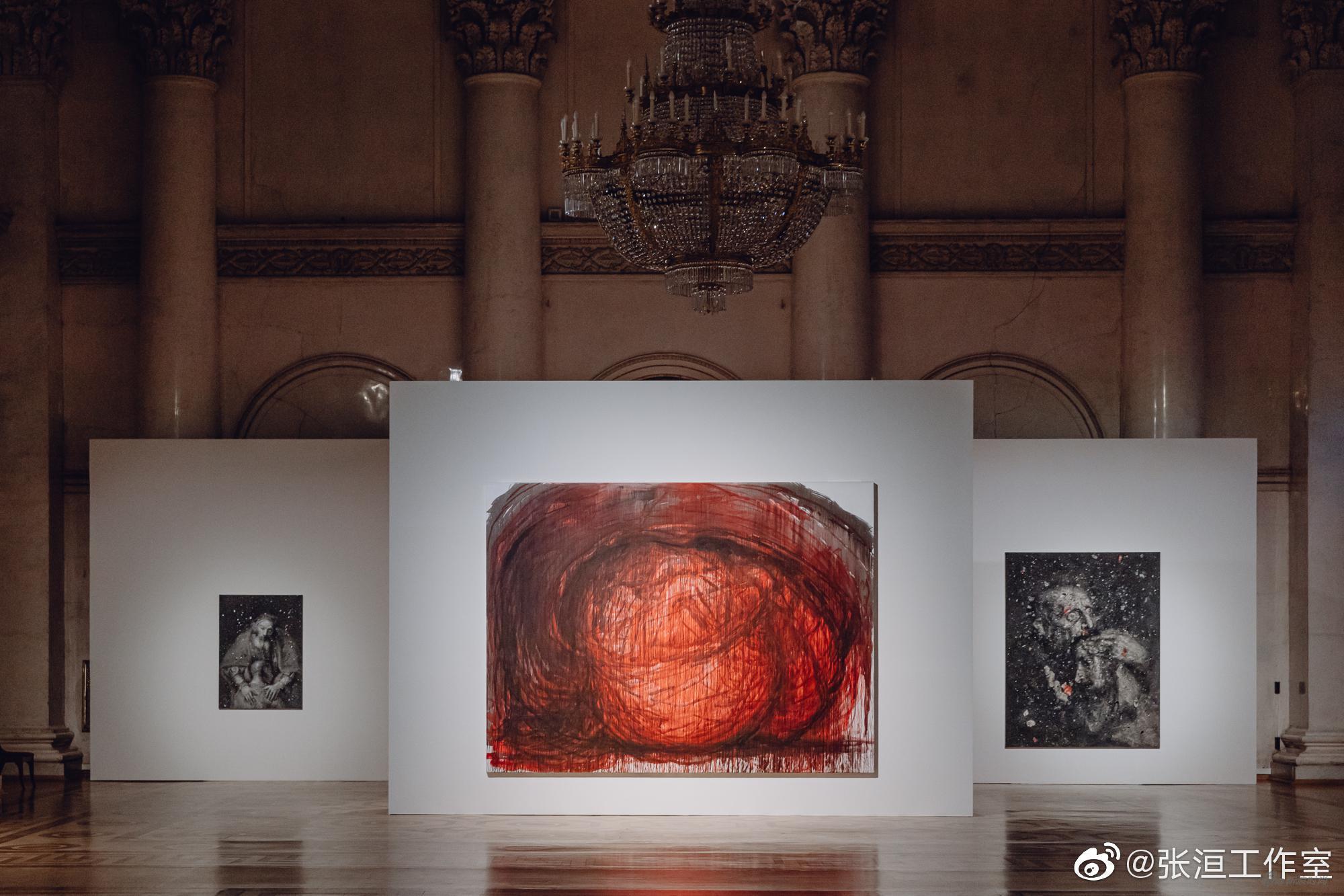 图片由@藝術門画廊PearlLamGalleries 和@张洹工作室 提供 ,摄影 | Alexander Murashkin
