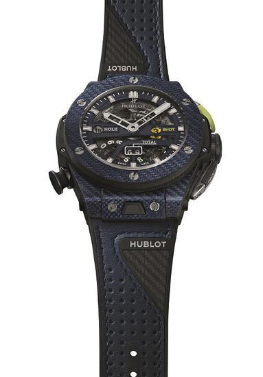 Big Bang Unico 高尔夫蓝色碳纤维腕表