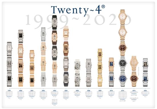 百达翡丽 Twenty~4 女式腕表系列如今再展新颜