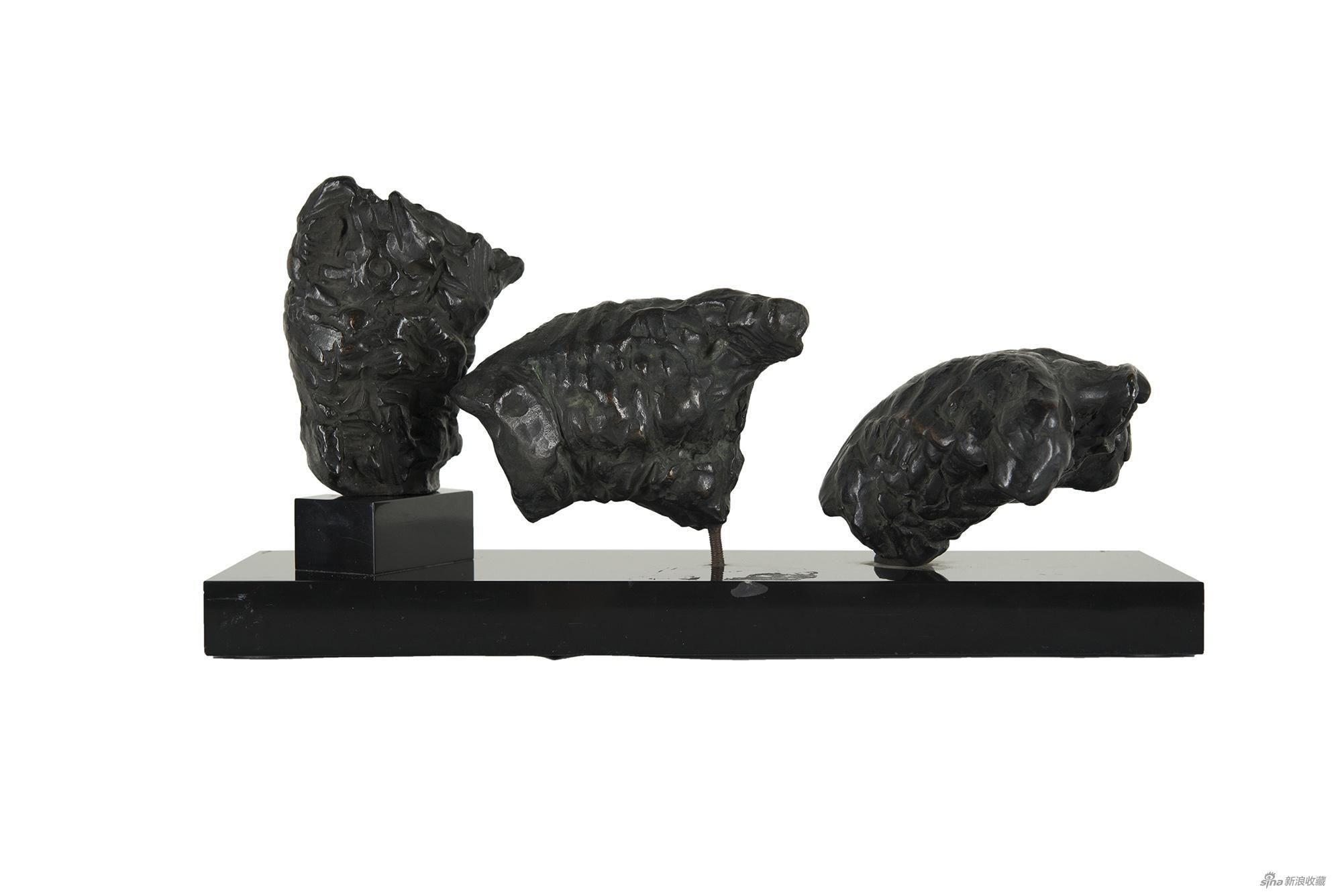 倒下去的人,雷蒙·马松,青铜雕塑,19.5×39.6×15cm,1963年