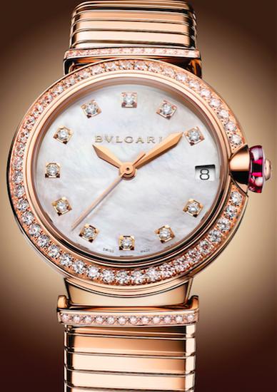 宝格丽Lvcea Tvbogas系列光环腕表