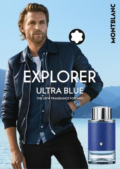 与Montblanc Explorer Ultra Blue一起开启全新的冒险旅程