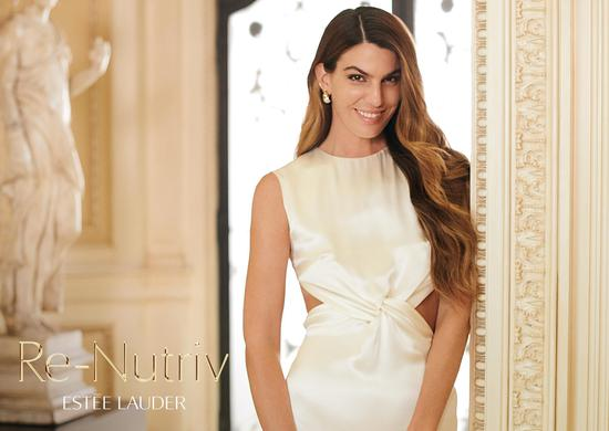 雅诗兰黛品牌签约时尚缪斯BIANCA BRANDOLINI d'ADDA为奢宠白金全球大使