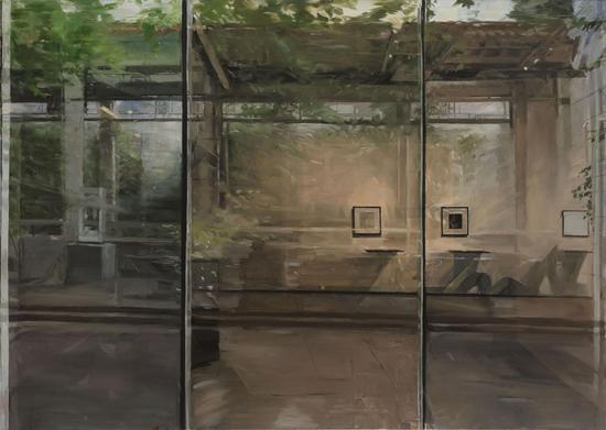 景致-2 150×200cm 2019年 布面油画