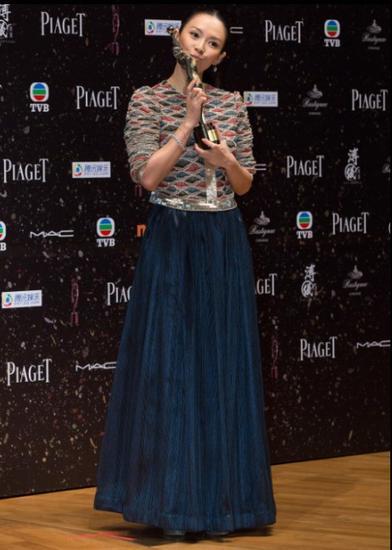 章子怡获2014香港电影金像奖最佳女主角
