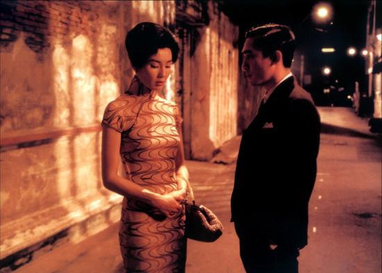张曼玉《花样年华》中的旗袍造型