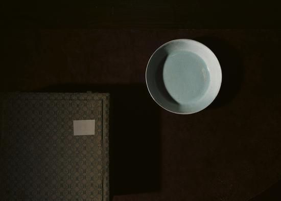 北宋-汝窑天青釉圆洗