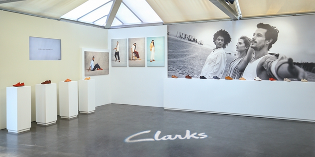 Clarks 2019春夏Brand Campaign系列展区(1)