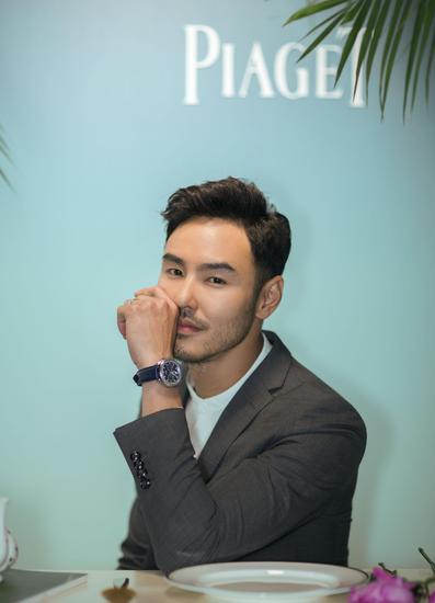阮经天佩戴PIAGET伯爵Possession系列珠宝及伯爵POLO S腕表