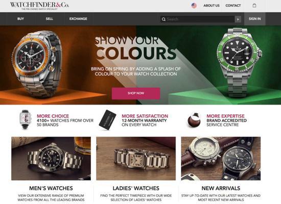 瑞士历峰集团收购Watchfinder 首次涉足二手手表业务