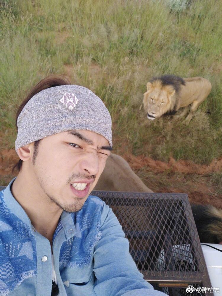 陈柏霖在纳米比亚