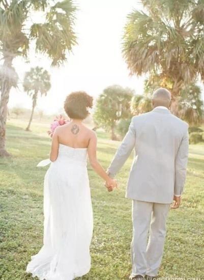 婚礼个性表达 美到发光的纹身新娘