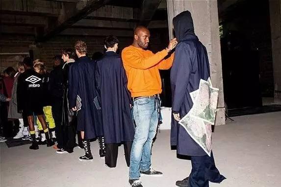 Off-White 是Kanye West的御用造型师Virgil Abloh 2014年推出同名品牌
