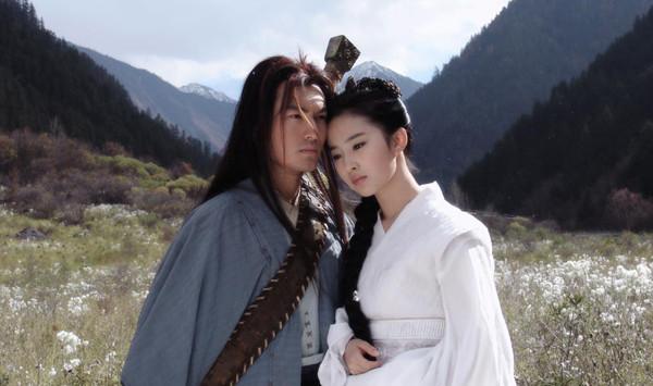 2006版《神雕侠侣》黄晓明刘亦菲剧照