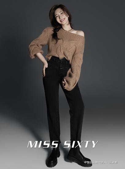 MISS SIXTY正式宣布江疏影成为品牌中国区代言人