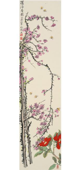中国花鸟画家江苹