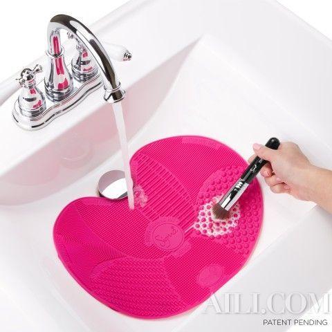 弧形设计方便排水