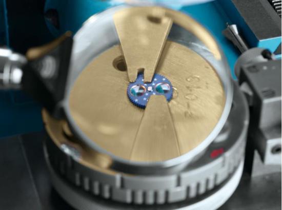 格拉苏蒂原创月相盘细节