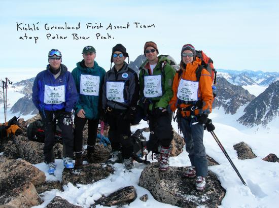 """Kiehl's科颜氏产品支持探险队完成人类""""首登格陵兰""""的伟大冒险"""