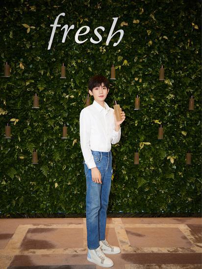 "Fresh馥蕾诗携手王源于重庆举办""源气满满""见面会"