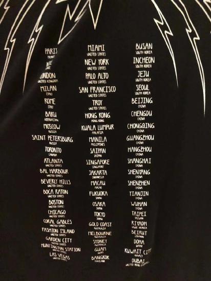 Givenchy就T恤不尊重中国主权一事发布道歉声明纪梵希Givenchy道歉声明