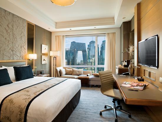 北京嘉里大酒店 豪华客房