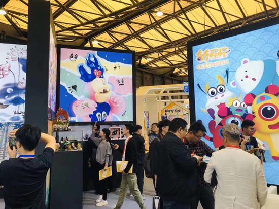 灌木文化参加2019上海CLE中国授权展