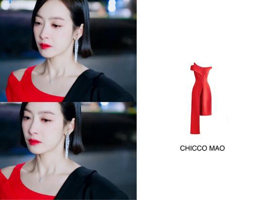 宋茜的小红裙