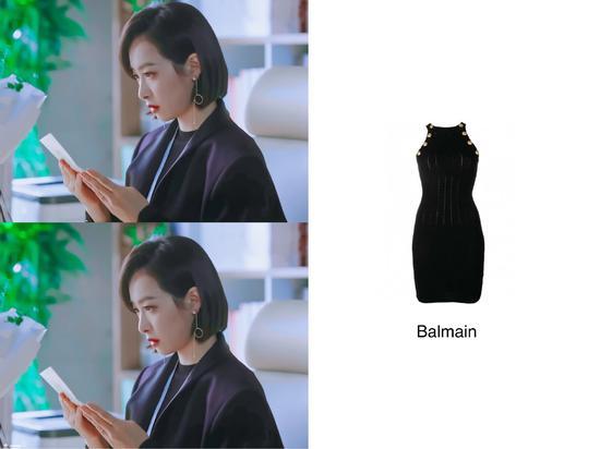 宋茜的黑色短裙