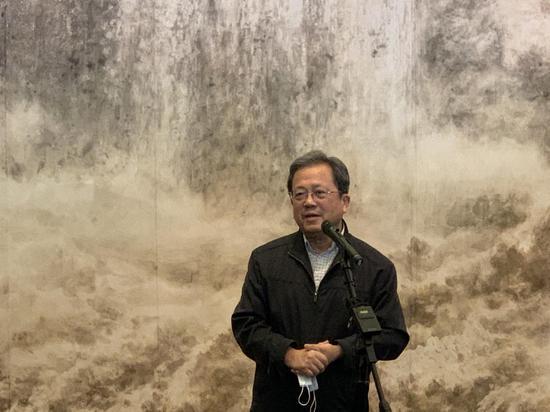 中央文史馆副馆长、中国文联副主席、中国美术家协会名誉主席 冯远