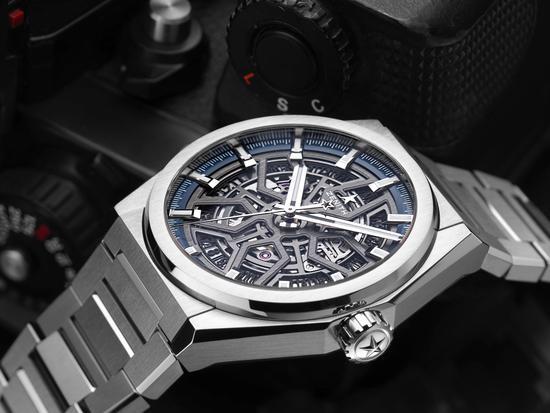 真力时Defy系列CLASSIC经典腕表,参考价54,500元
