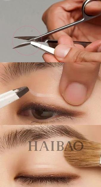 双眼皮贴步骤