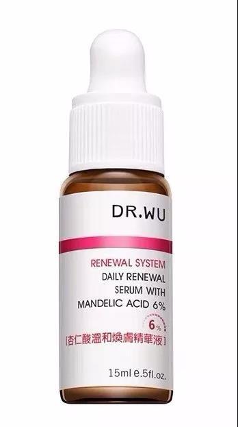 DR.WU达尔肤6%杏仁酸果酸焕肤精华液