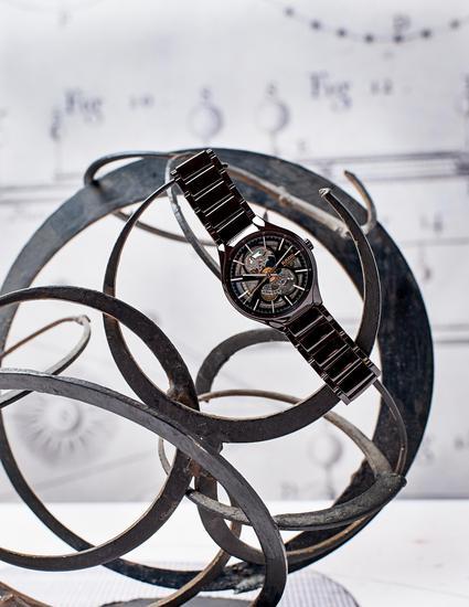 RADO 瑞士雷达表 True 真系列镂空自动机械腕表