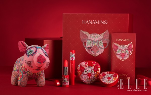 "HANAMINO花迷红""韵""猪年福袋"