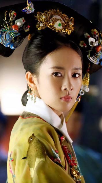 童瑶扮演的高贵妃