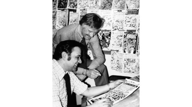 Stan Lee早年创作旧照