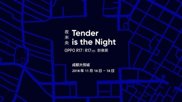 Tender is the Night·夜未央 OPPO R17/R17 Pro影像展