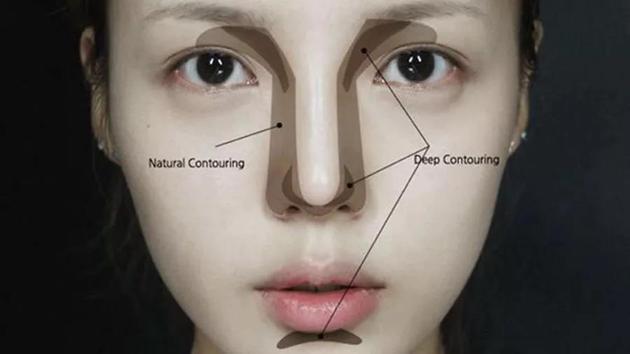 6种整容级鼻型修容法蒜头鼻朝天鼻原来要这样修