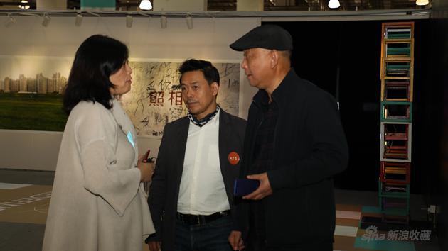 著名画家李向阳和雕塑家杨冬白