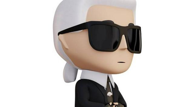 Karl Lagerfeld发布首个NFT系列