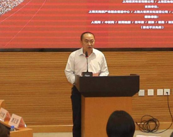 上海工艺美术职业学院副院长唐廷强