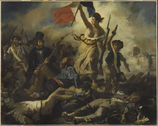 欧仁·德拉克洛瓦,《2018-07-22:自由领导人民》(July 28, 1830: Liberty Leading the People, 1830)