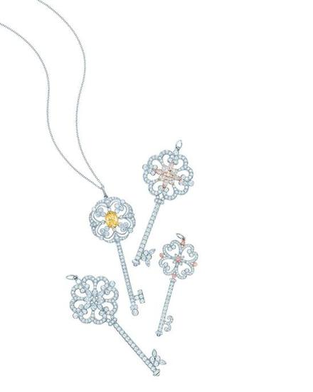 Tiffany Keys系列Tiffany Victoria钥匙吊坠