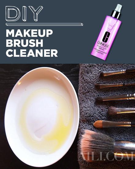 自制化妆刷清洗液