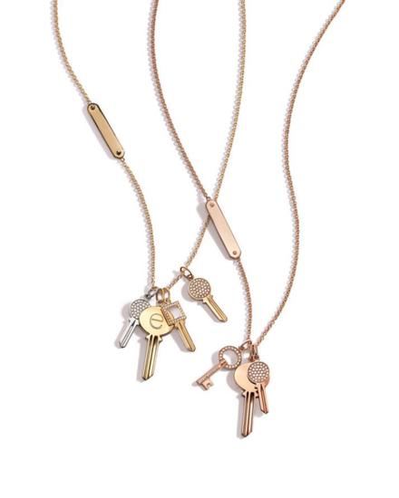 Tiffany & Co. 蒂芙尼Keys系列Modern Keys钥匙吊坠